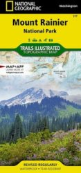Mount Rainier Trails Illustrated Map