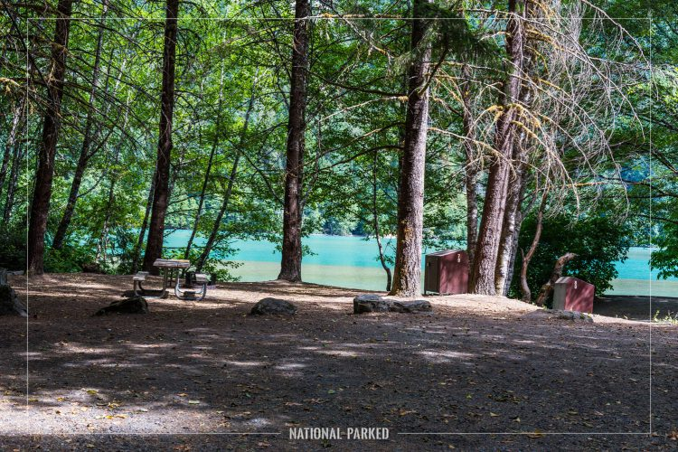 Colonial Creek Campground in North Cascades National Park Complex