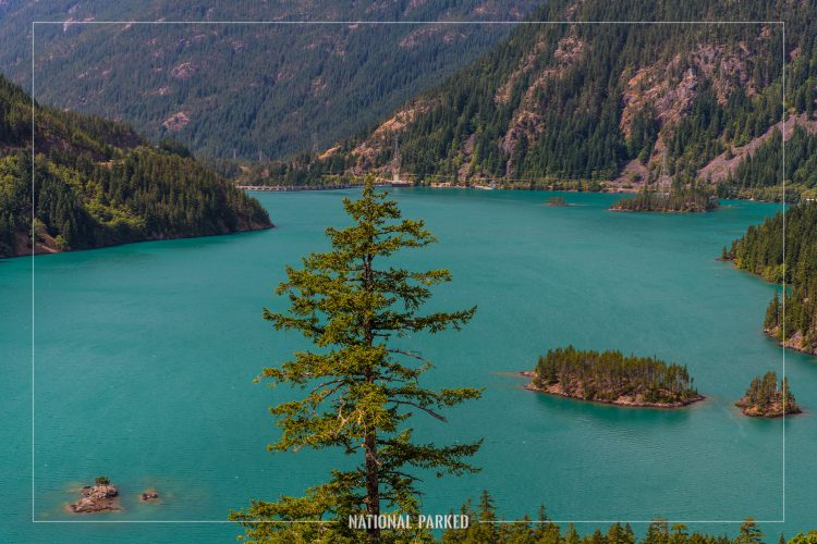 Diablo Lake Overlook in North Cascades National Park Complex