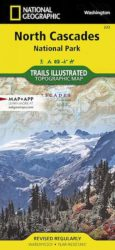 North Cascades Trails Illustrated Map