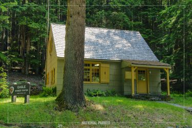 Eagle Ranger Station in Olympic National Park in Washington
