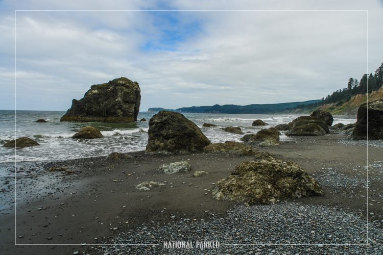 Ruby Beach in Olympic National Park in Washington