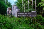 Sol Duc Entrance Sign in Olympic National Park in Washington