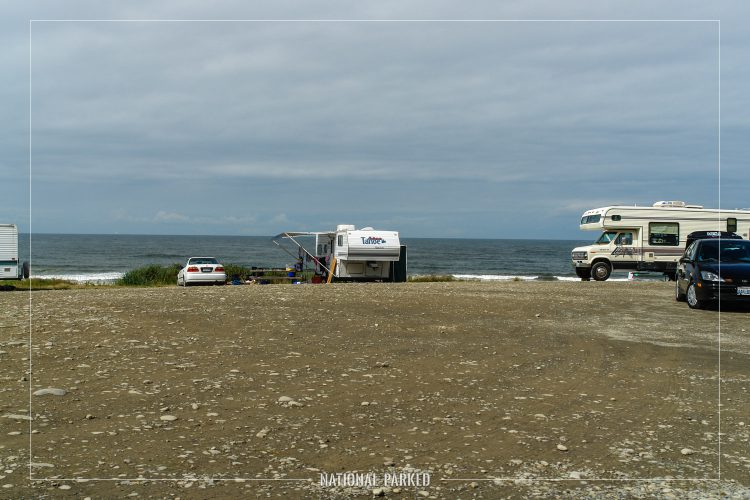 South Beach Campground in Olympic National Park in Washington