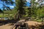 Beaver Ponds Picnic Area in Rocky Mountain National Park in Colorado