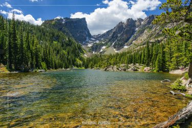 Dream Lake in Rocky Mountain National Park in Colorado