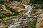 Horseshoe Falls in Rocky Mountain National Park in Colorado