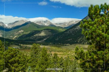 Horseshoe Park in Rocky Mountain National Park in Colorado