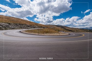 Medicine Bow Curve in Rocky Mountain National Park in Colorado