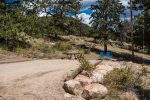 Moraine Park Campground in Rocky Mountain National Park in Colorado
