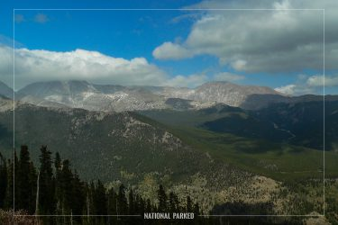 Rainbow Curve in Rocky Mountain National Park in Colorado