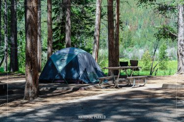 Timber Creek Campground in Rocky Mountain National Park in Colorado