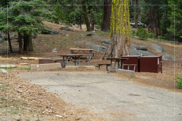 Crystal Springs Campground in Kings Canyon National Park in California