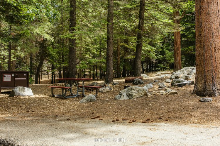 Sheep Creek Campground in Kings Canyon National Park in California
