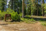 Big Baldy Trailhead in Sequoia National Forest in California