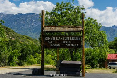 Kings Canyon Lodge in Sequoia National Forest in California