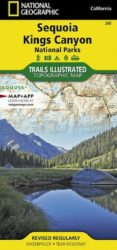 Sequoia/Kings Canyon Trails Illustrated Map