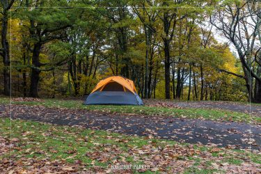 Big Meadows Campground in Shenandoah National Park in Virginia