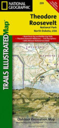 Theodore Roosevelt Trails Illustrated Map