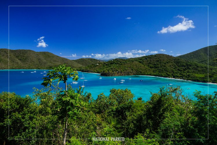 America Point in Virgin Islands National Park on the island of St. John