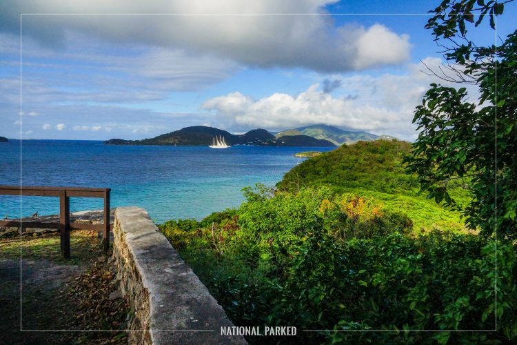 Annaberg Walking Trail in Virgin Islands National Park on the island of St. John