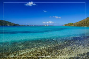 Francis Bay in Virgin Islands National Park on the island of St. John