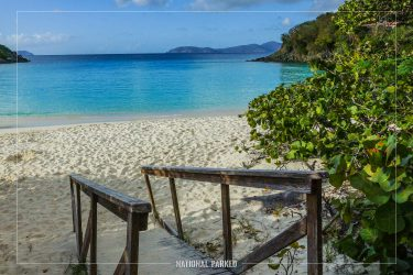 Trunk Bay in Virgin Islands National Park on the island of St. John