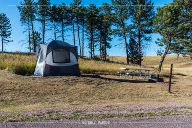 Elk Mountain Campground, Wind Cave National Park, South Dakota