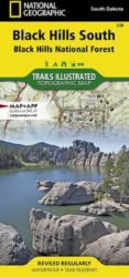 Black Hills South Trails Illustrated Map