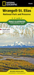 Wrangell-St. Elias Trails Illustrated Map