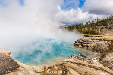 Excelsior Geyser Crater, Yellowstone National Park, Wyoming