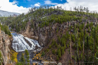 Gibbon Falls, Yellowstone National Park, Wyoming