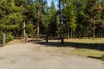 Indian Creek Campground in Yellowstone National Park in Wyoming