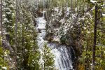 Kepler Cascades in Yellowstone National Park in Wyoming
