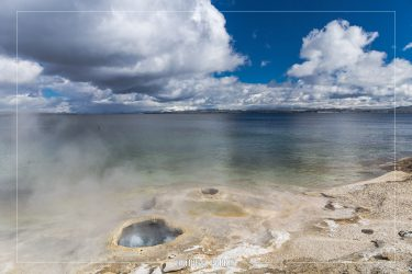 Lakeshore Geyser, Yellowstone National Park, Wyoming