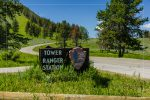Tower Ranger Station in Yellowstone National Park in Wyoming