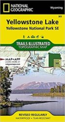 Yellowstone SE Trails Illustrated Map