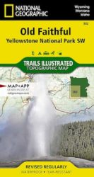 Yellowstone SW Trails Illustrated Map