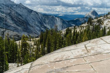 Olmstead Point in Yosemite National Park in California