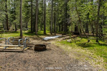 Porcupine Flat Campground in Yosemite National Park in California