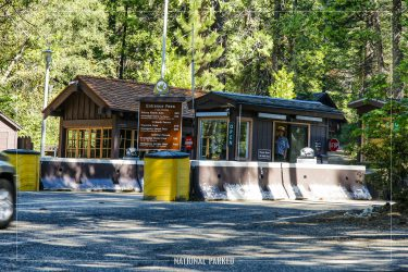 South Entrance Station in Yosemite National Park in California