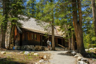 Tuolumne Meadows Visitor Center in Yosemite National Park in California