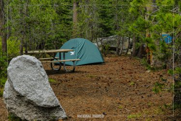 White Wolf Campground in Yosemite National Park in California