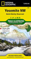 Yosemite NW Trails Illustrated Map