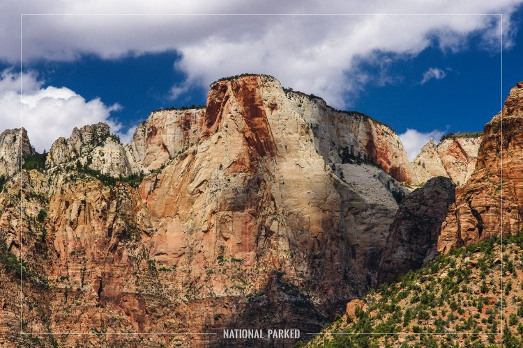 Altar of Sacrifice in Zion National Park in Utah