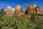 Court of the Patriarchs in Zion National Park in Utah