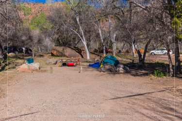 South Campground in Zion National Park in Utah
