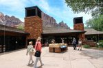 Zion Canyon Visitor Center in Zion National Park in Utah