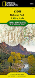 Zion Trails Illustrated Map