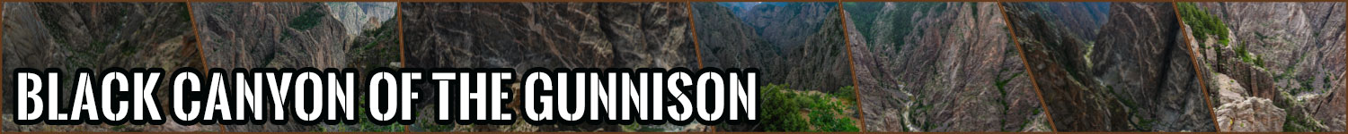 Black Canyon of the Gunnison header image